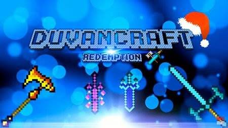 Текстур пак DuvanCraft Redemption для Майнкрафт ПЕ