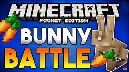 Карта The Bunny Battle для Майнкрафт ПЕ