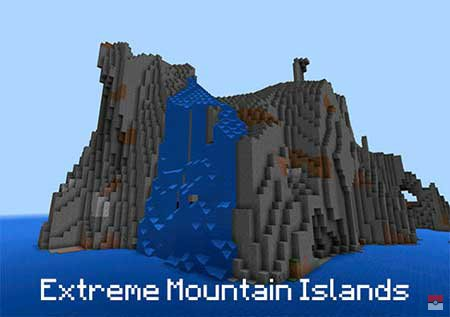 Сид Extreme Mountain Islands для Майнкрафт ПЕ