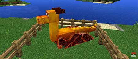 Мод Dragon Mounts — Драконы в Minecraft PE