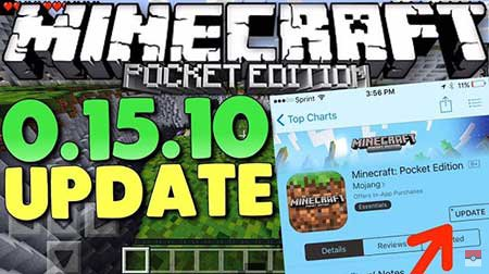 Скачать Minecraft Pocket Edition 0.15.0 на android
